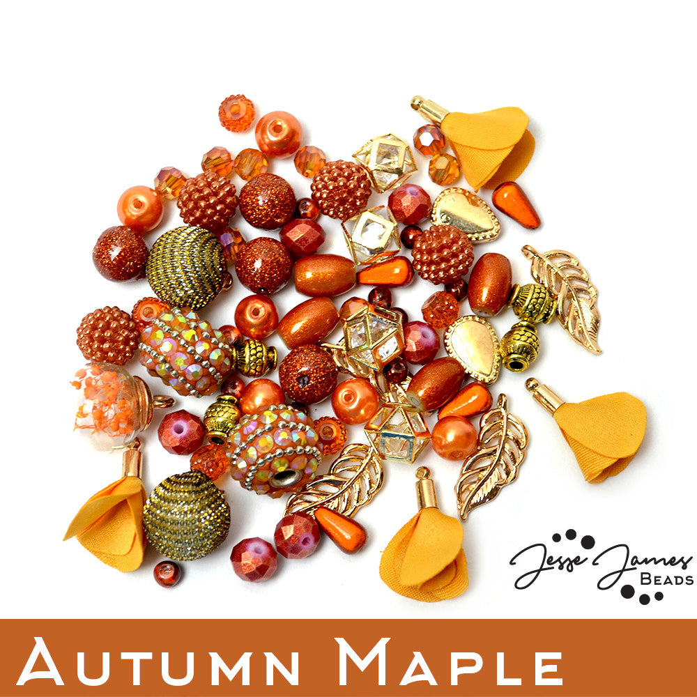 jesse james beads has teamed up with author and designer nealay patel to create a collection of designs featuring jjb fall pantone beads - Jewelry Design Ideas
