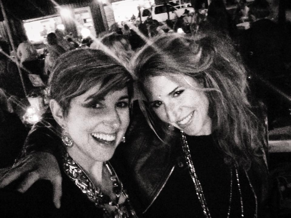 Sarah and Candie at the Beads of Courage Fundraising Charity Event