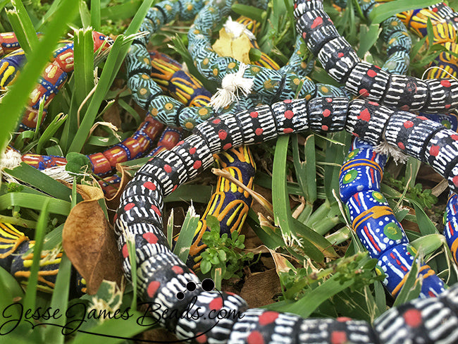 African Trade Beads from Jesse James Beads