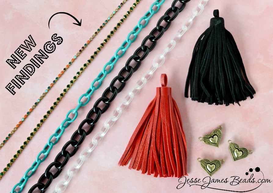 Bright New Findings for Jewelry Making from Jesse James Beads
