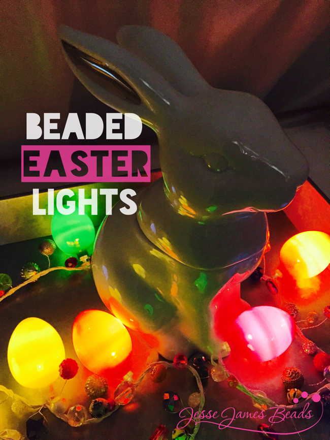 DIY beaded Easter craft idea with Jesse James Beads