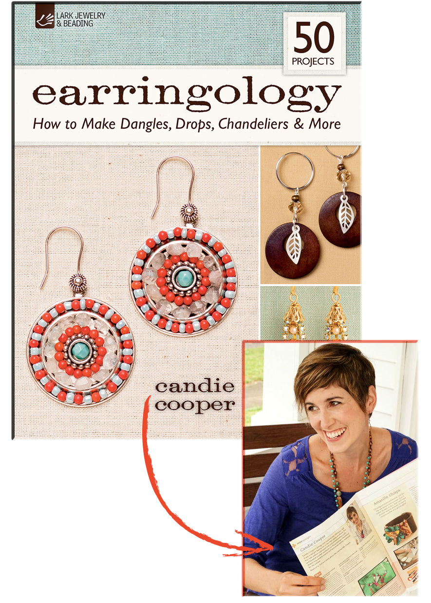 "12 Days of Bead Giveaways - Day 9: Candie Cooper's ""Earringology"" Book"