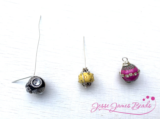 How to make custom drink charms with Jesse James Beads10