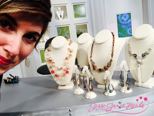 Jesse James Beads debut on Jewel School on JTV with Candie Cooper18