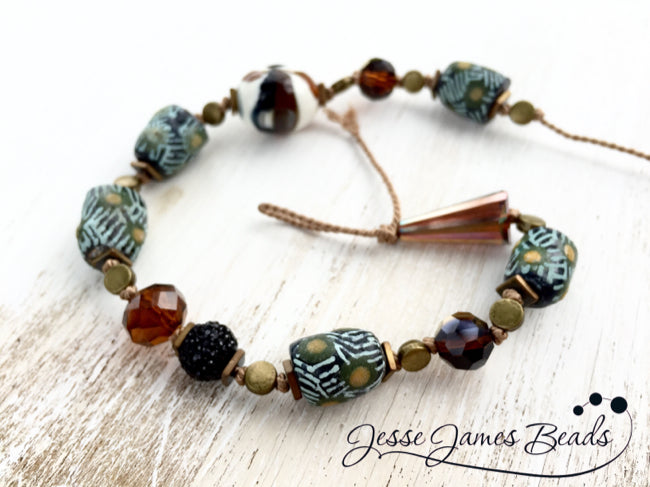 Knotted Trade Beads from Jesse James Beads8