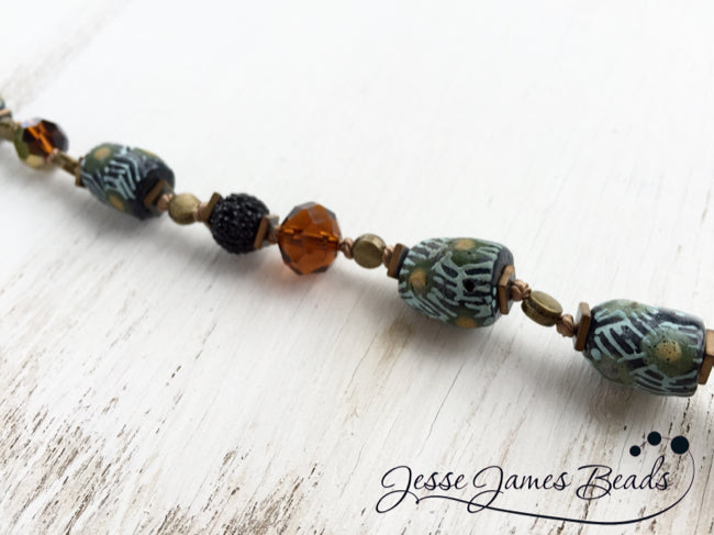 Knotted Trade Beads from Jesse James Beads9