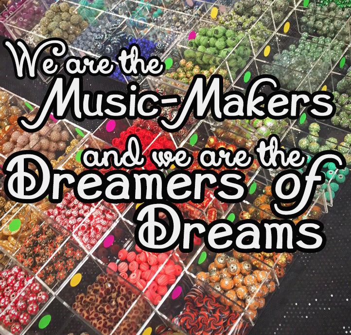 Rainbow Beads - Bead Maker Heaven from Jesse James Beads