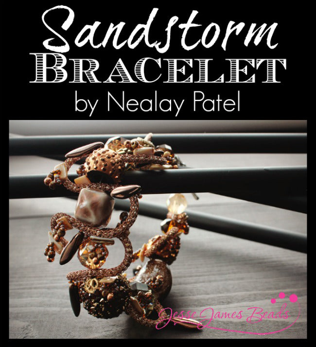 Sandstorm Bracelet by Nealay Patel for Jesse James Beads