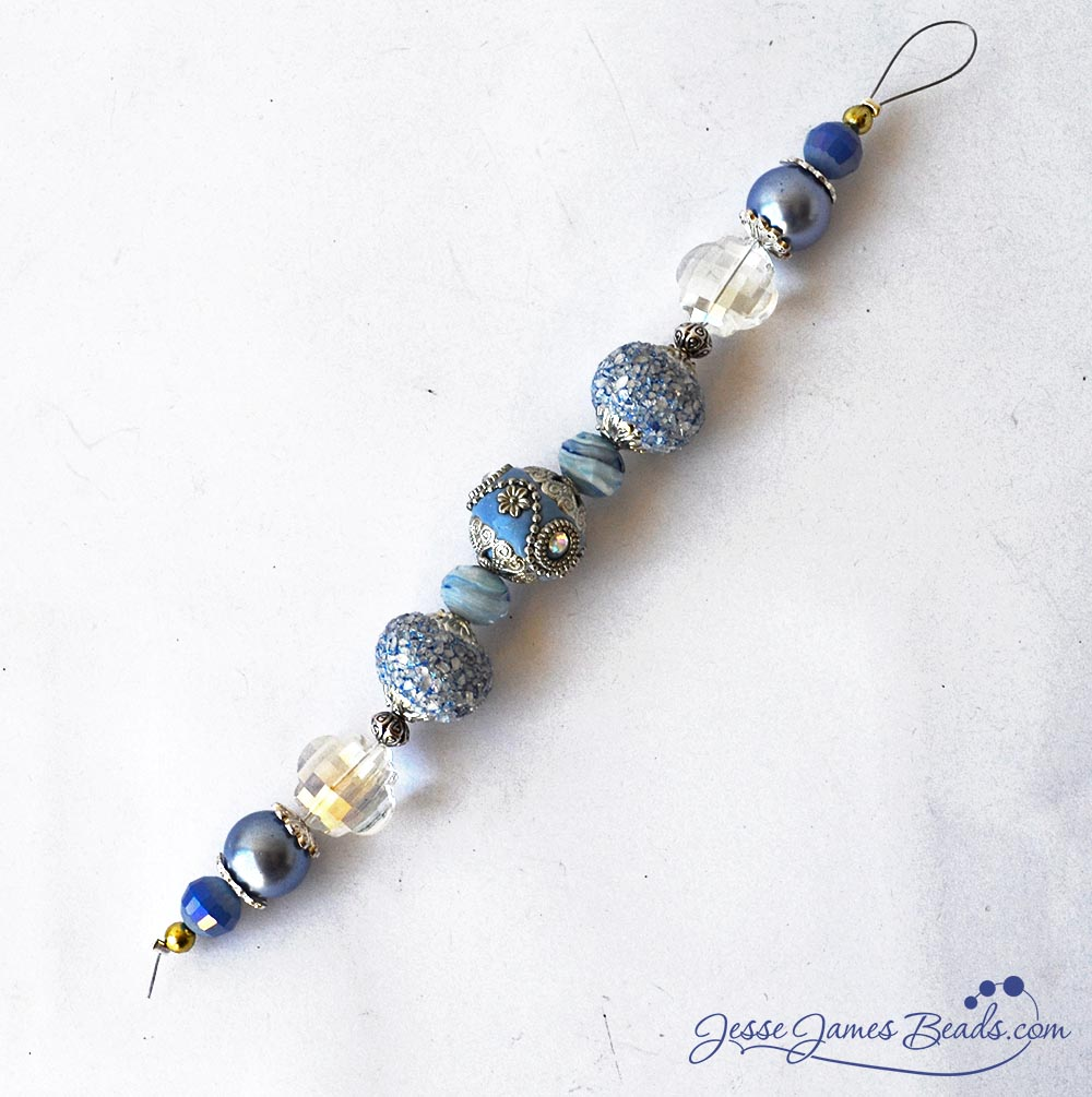 Serenity Bead Strand - Jewelry Beads for Easter Jewelry Making