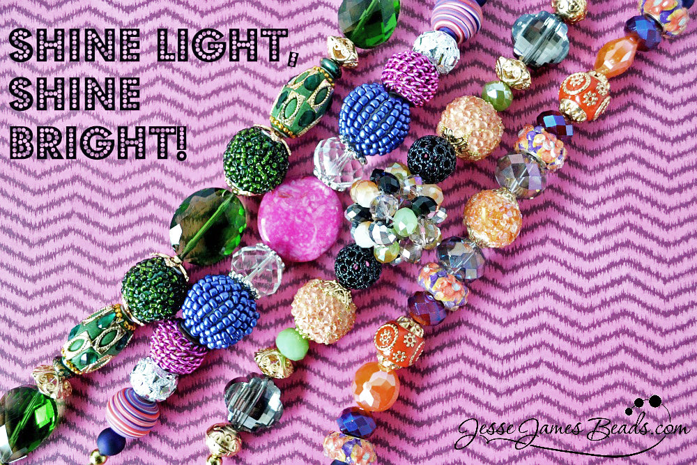 Shine Light Shine Bright New JJB Beads
