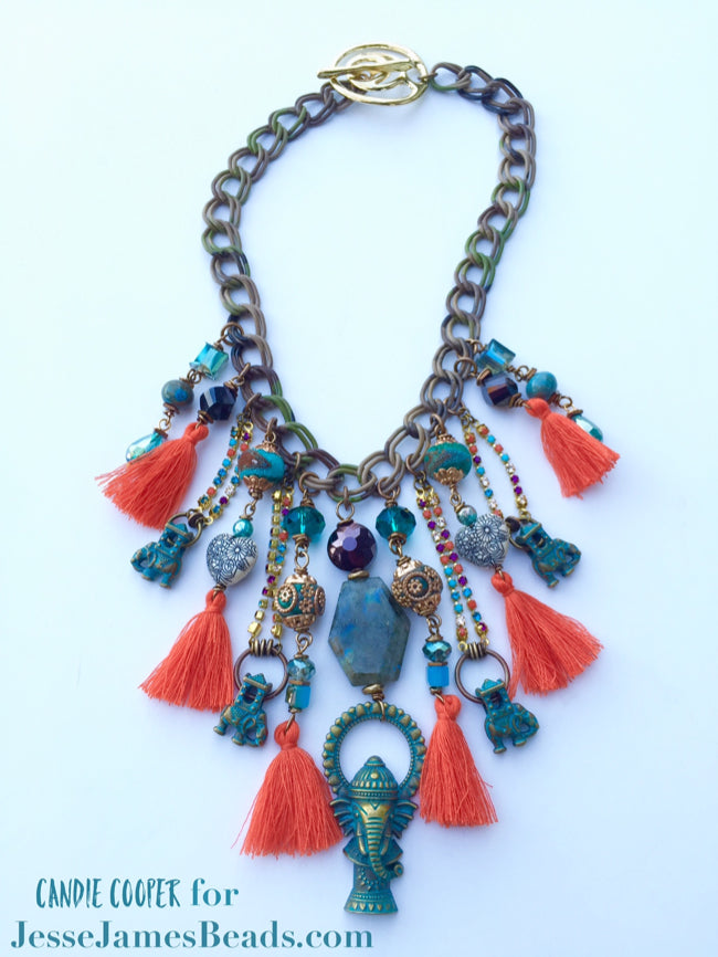 Tassel Takeover - How To Make Tassel Jewelry 4
