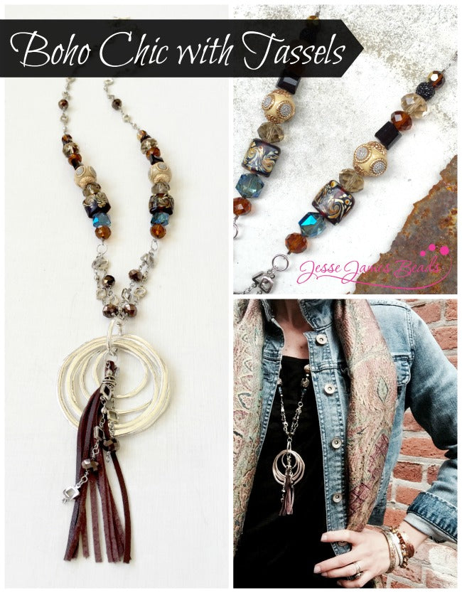 Tassel Takeover - How to Make Trend Tassel Jewelry