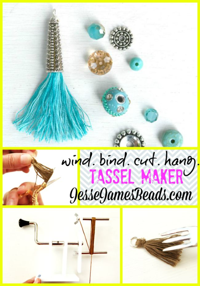 Tassel Takeover - How to Make Your Own Tassels - How to Make Tassel Jewelry