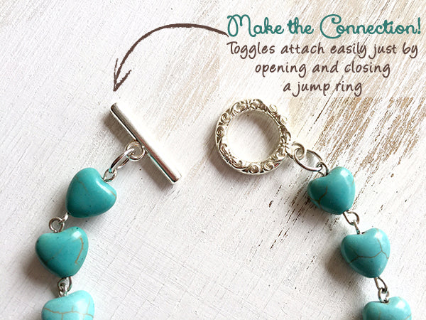 Tucson Love Turquoise Desert Necklace Project by Candie Cooper for Jesse James Beads