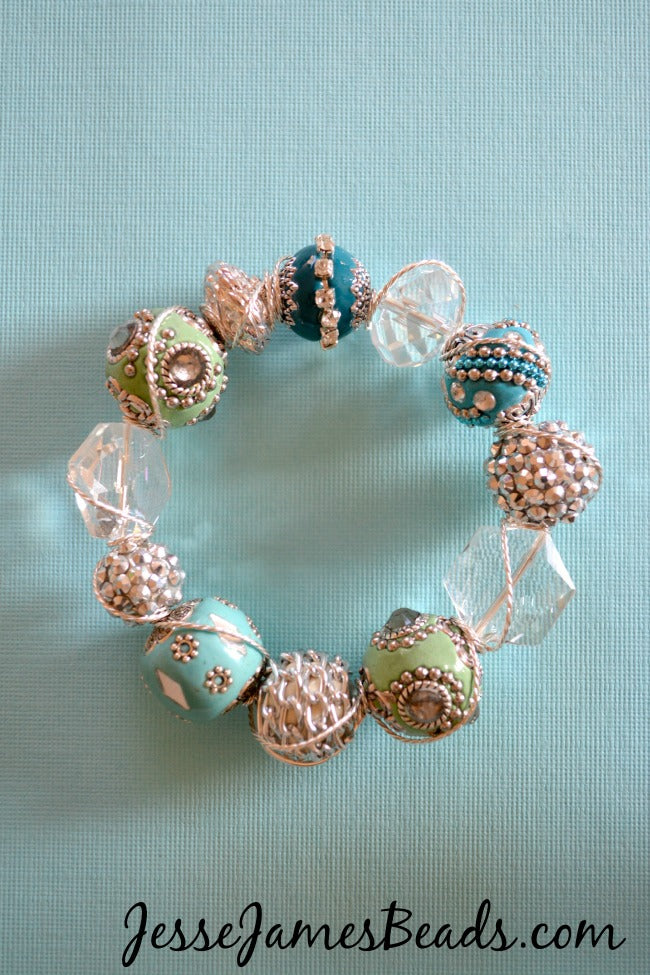 Beaded Christmas Ornament Idea 1