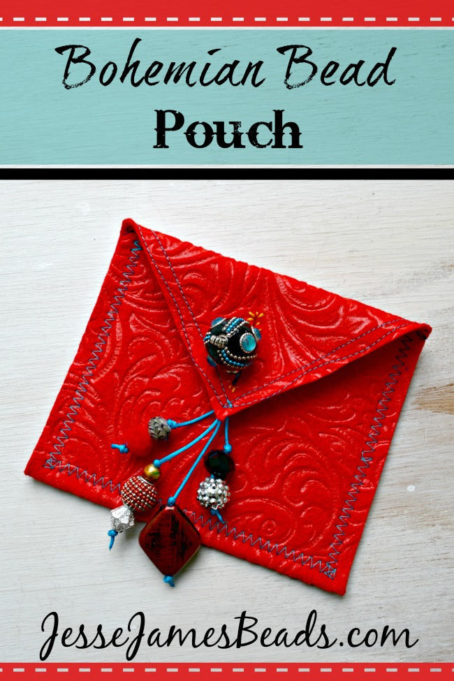 Bohemian Bead Pouch from Jesse James Beads