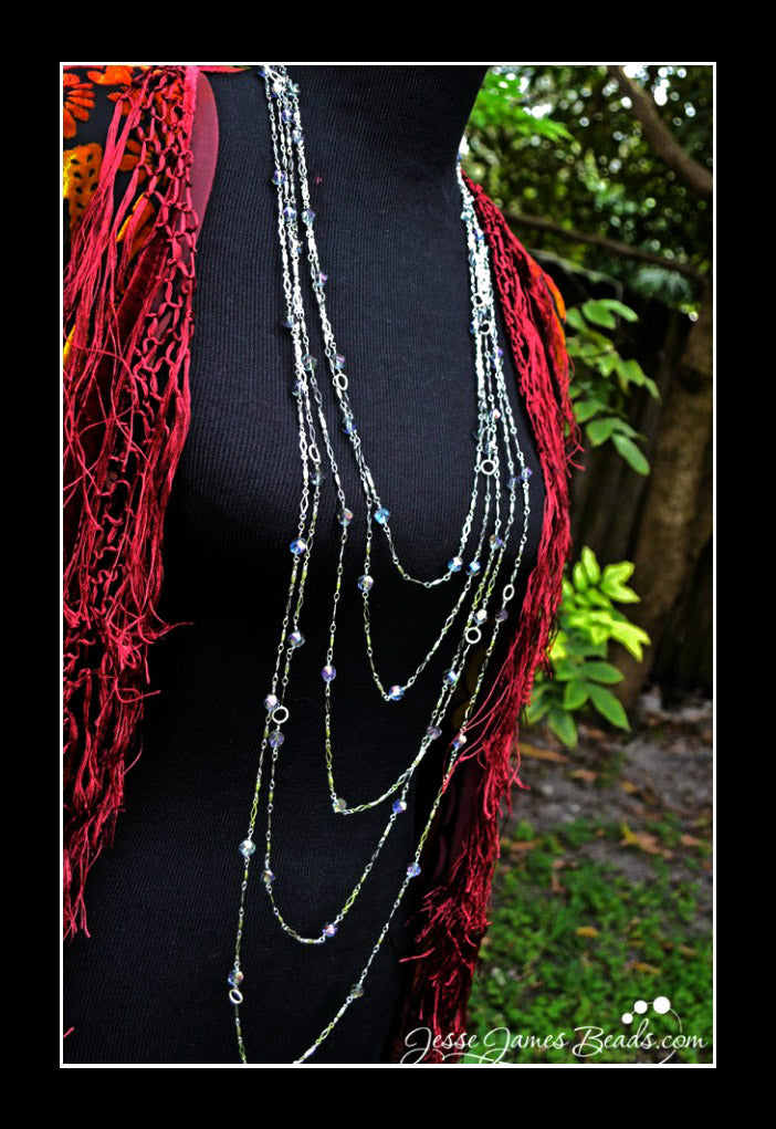 layering necklace is great