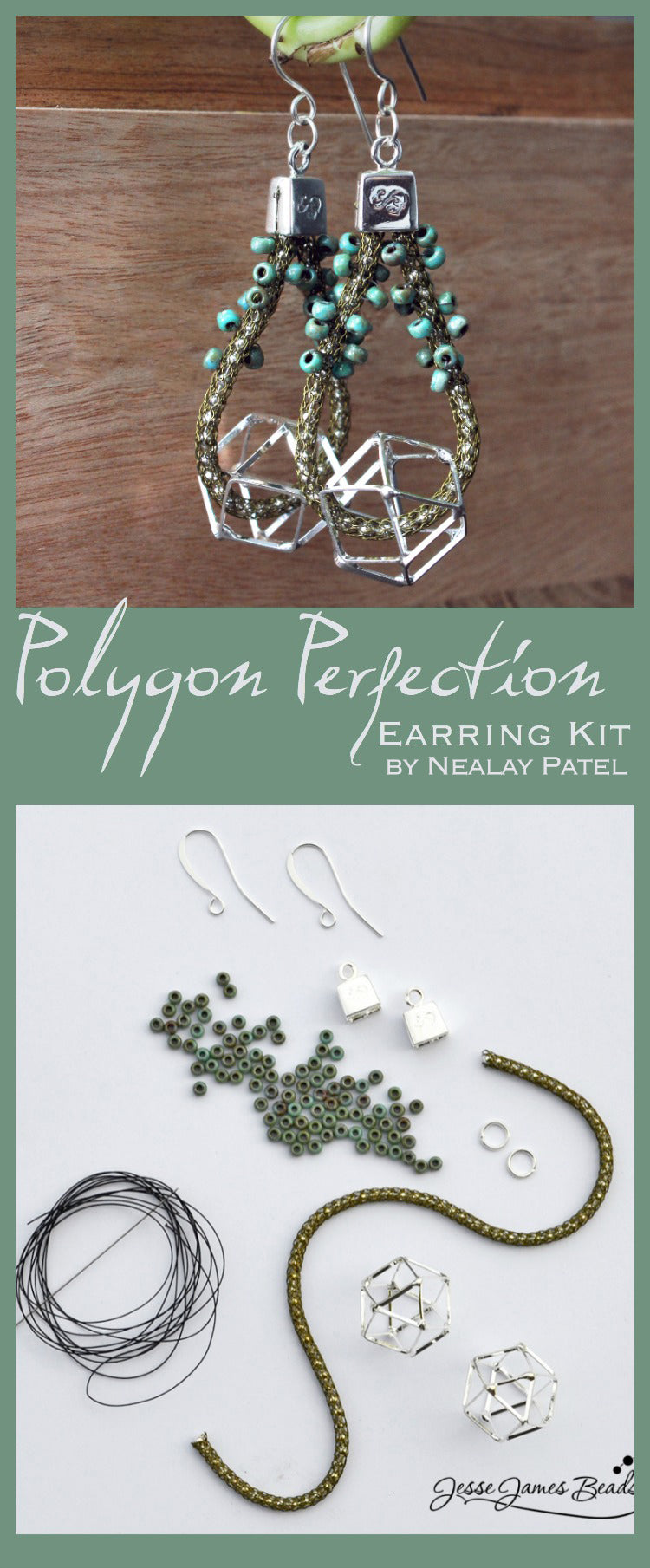 polygon perfection earring kit copy