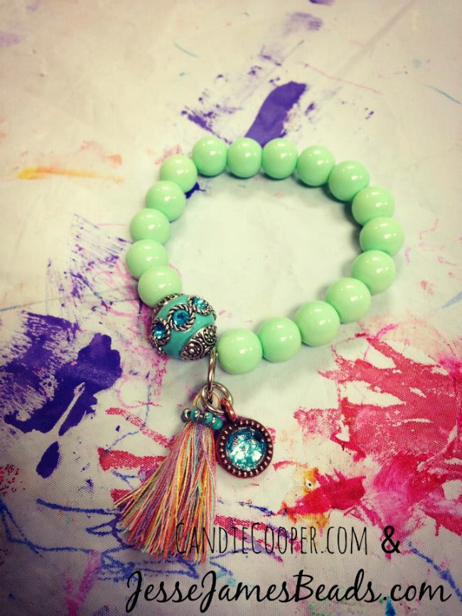 Tween beading project idea from Candie Cooper and Jesse James Beads