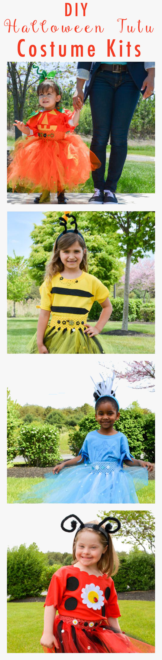 DIY Halloween Kids Costumes - Fun and easy costumes to create with your kid