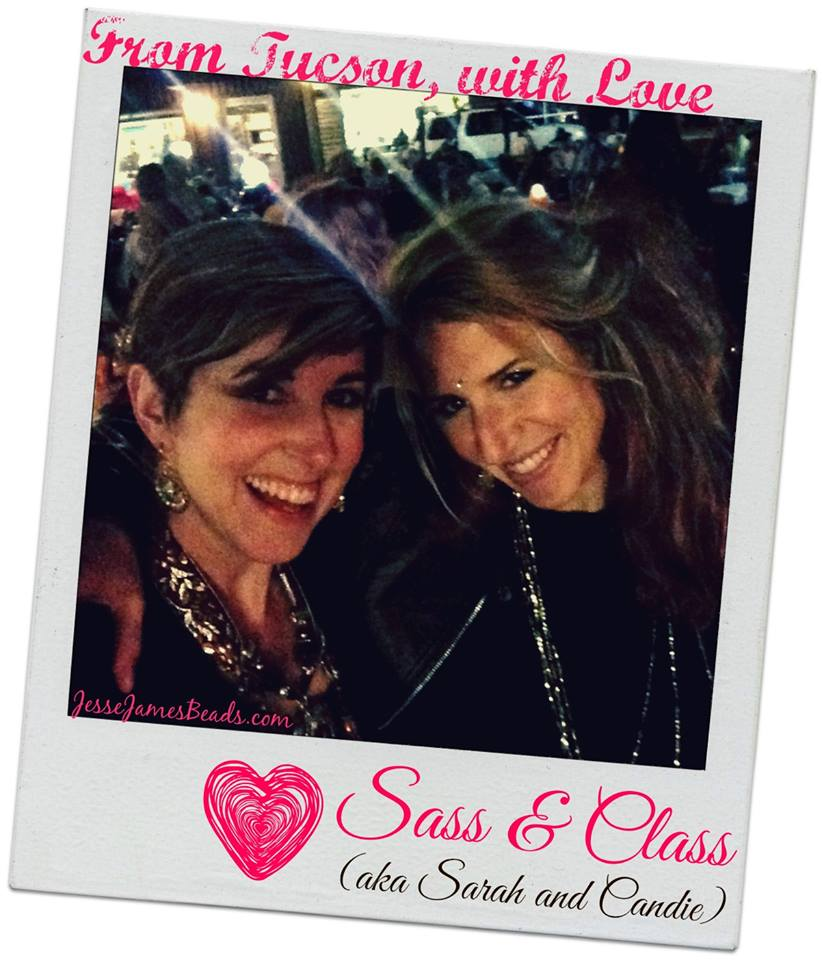 Friendship! Me and my best friend Candie Cooper, Author and Jewelry Maker. She rocks!