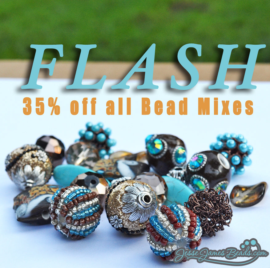 Flash Mix on Jesse James Bead Mixes. One day only save on beads