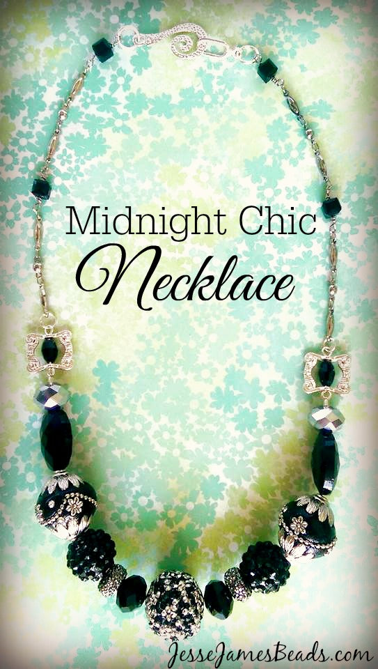 Elegant and easy necklace project from Jesse James