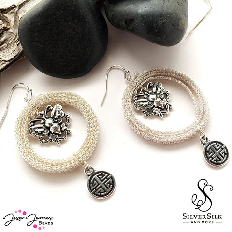 Jesse James Beads - SilverSilk and More - Nealay Patel - Everyday Earrings
