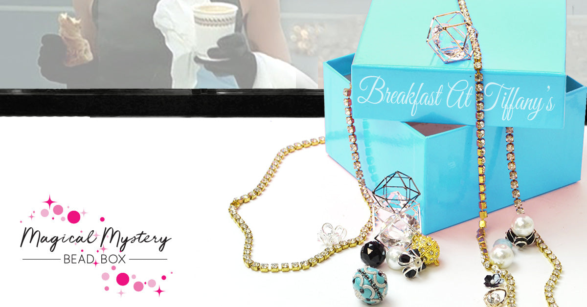 Magical Mystery Bead Box - July Theme - Breakfast at Tiffany's
