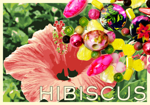 Jesse James Beads - Hibiscus - Destination: Hawaii