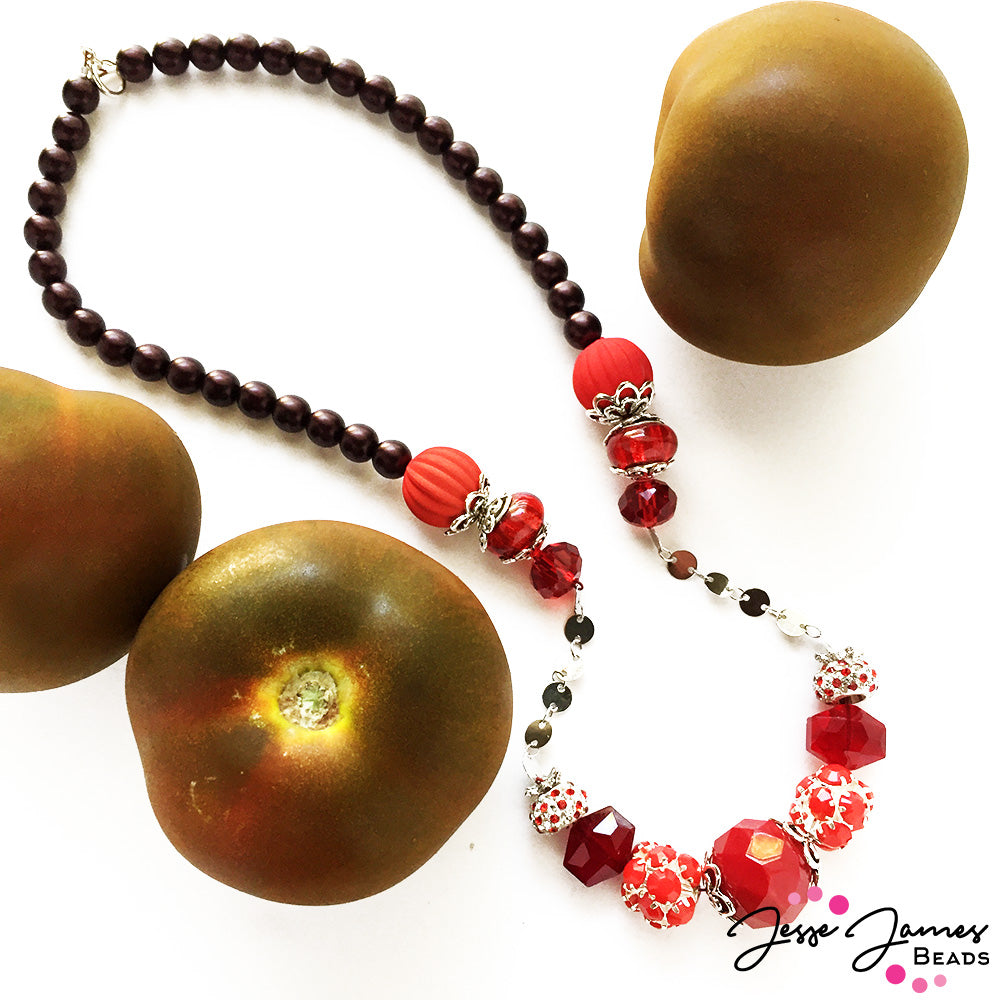Jesse James Beads - Nealay Patel - Red Nosed Necklace