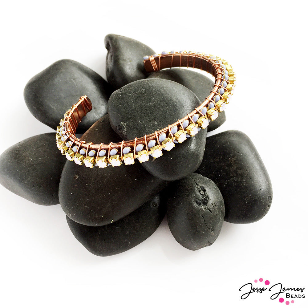 Nealay Patel - Jesse James Beads - Wire Wrapped Bracelet