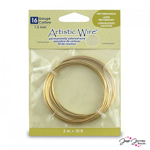 Artistic Wire Gold Wire 16 Gauge