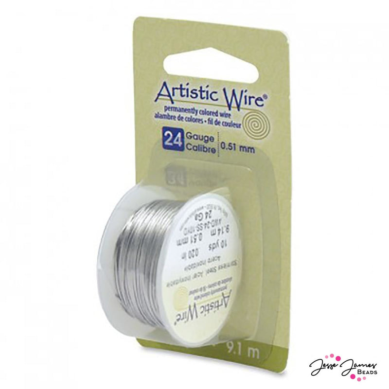 Artistic Wire in Stainless Steel 24 g