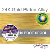 24K Gold Color SoftFlex Wire