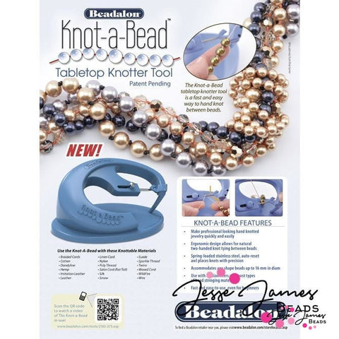Easy Knotter Tool, Knot-a-Bead