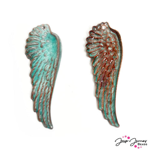 Gardanne Guardian Angel Pendant Pair