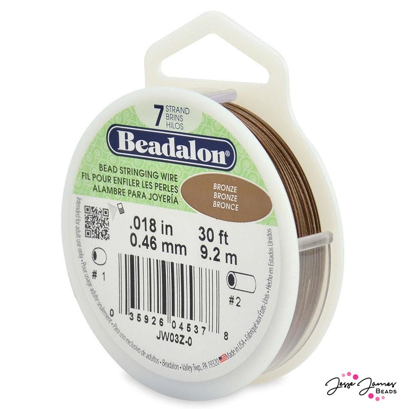 Bronze Beadalon 7-Strand Stringing Wire