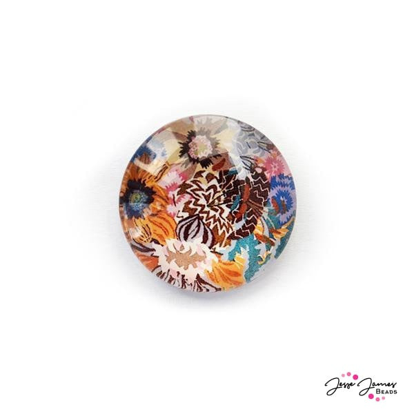 Field of Wild Flowers Cabochon