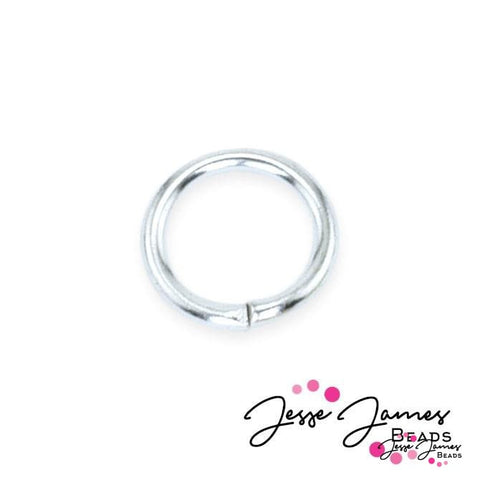 Jump Rings, Silver 6mm