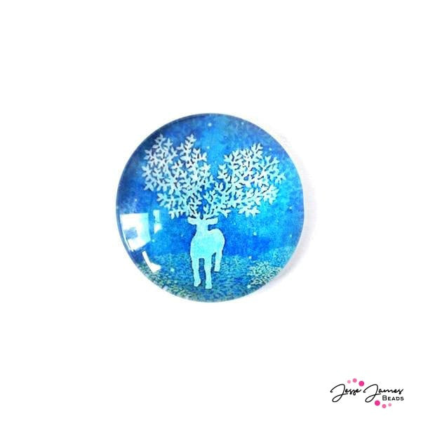 Cabochon Winter Spirits Deer