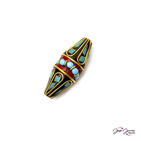 Boho Ancient Explorer Focal Bead