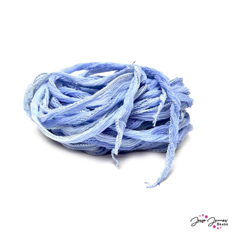 Fairy Silk Cord in Light Bluestone