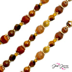 Bead Strand Ft. Dakota Stones in Warm Jasper
