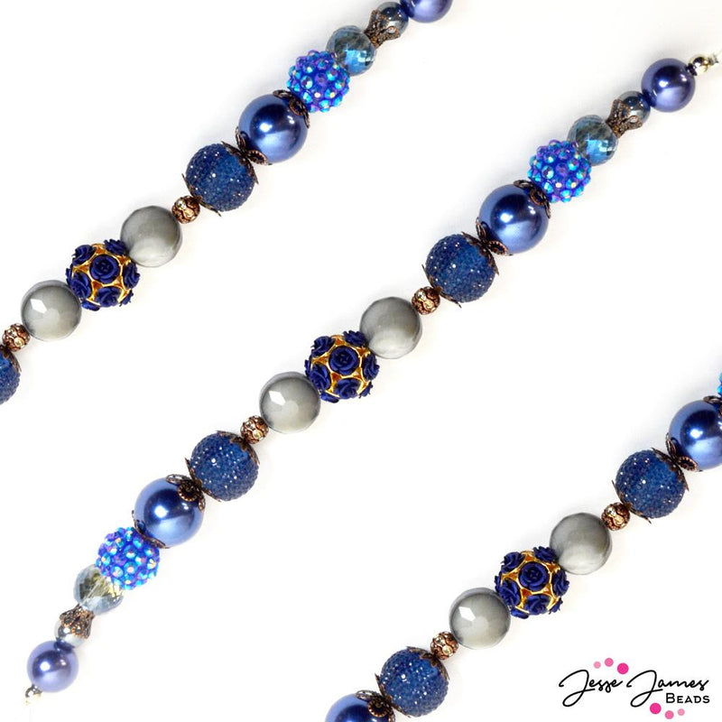 Bead Strand in Into The Deep Blue