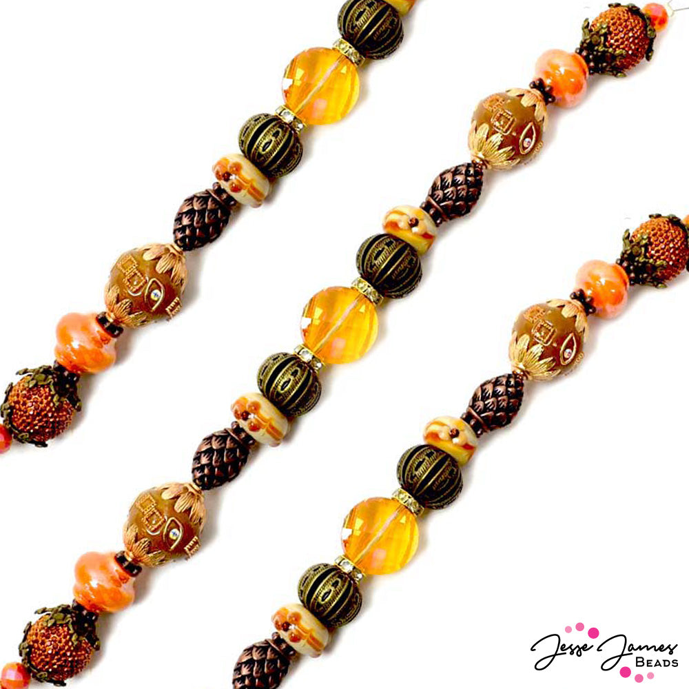 Bead Strand in Pumpkin Spice & Everything Nice