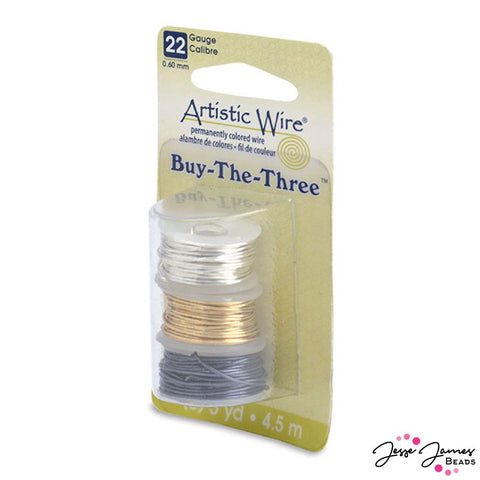 Beadalon 22 Gauge Assorted Wire Pack
