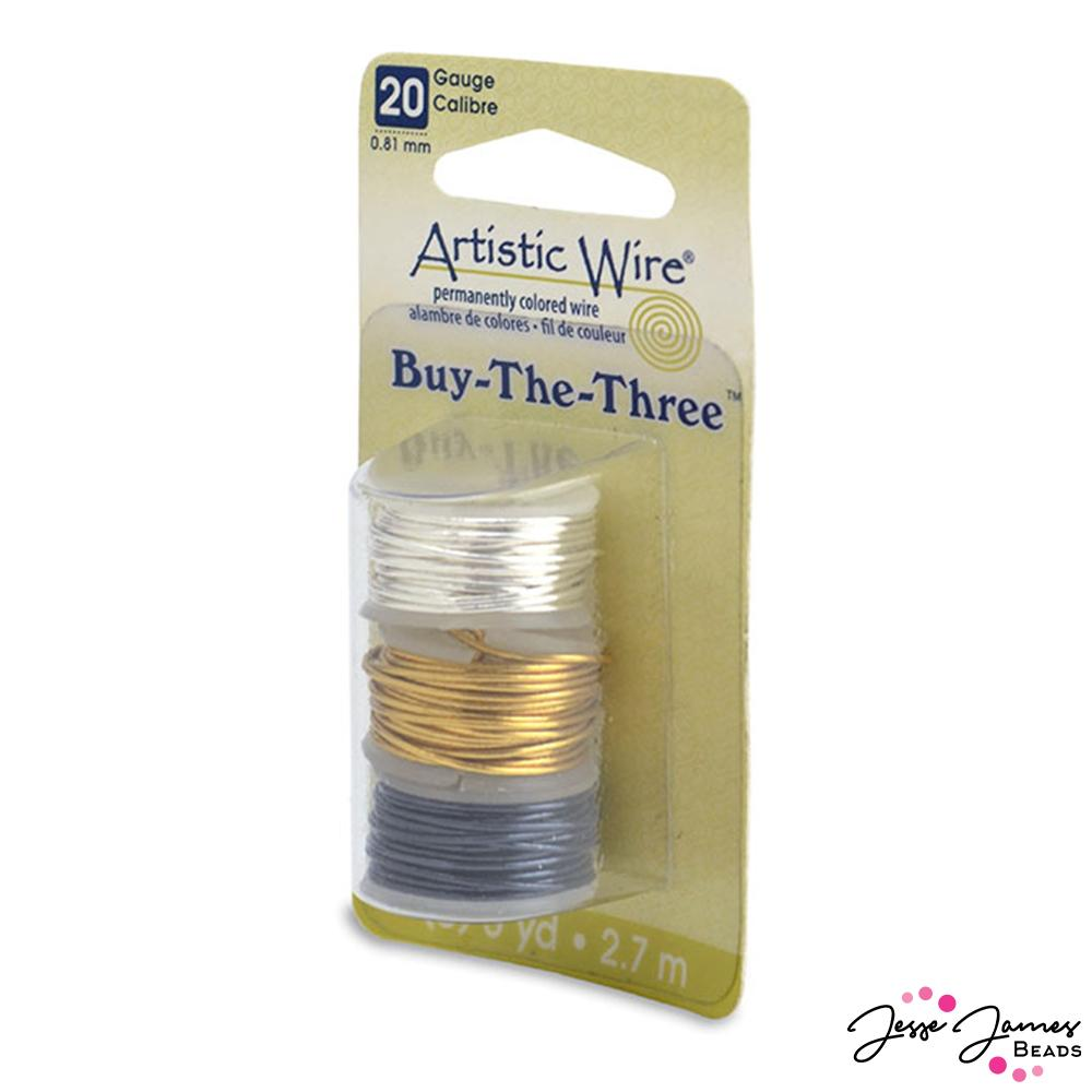 Beadalon 20 Gauge Assorted Wire Pack