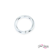 4 MM Silver Jump Rings