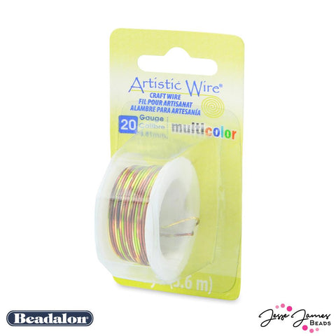 Beadalon Multicolor Wire in Brown Green & Gold 20 Gauge